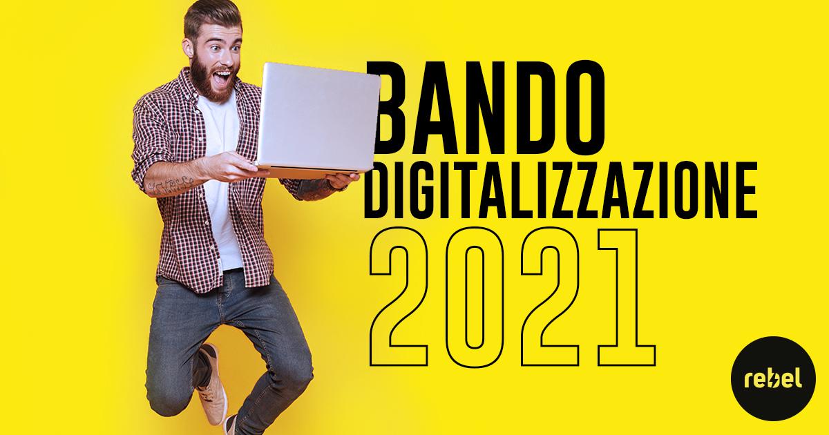 Bando digitalizzazione 2021